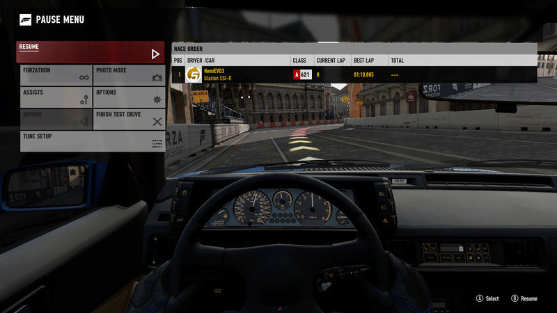 FM7 | 300HP (FWD/RWD) - Prague Short Circuit 11-23-11