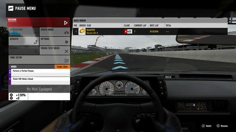 FM7   300HP (FWD/RWD) - Silverstone National Circuit 12-17-12