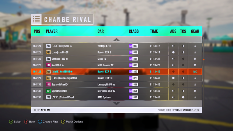 FH3 Time Attack | Stock Car Challenge #37 4-29-210