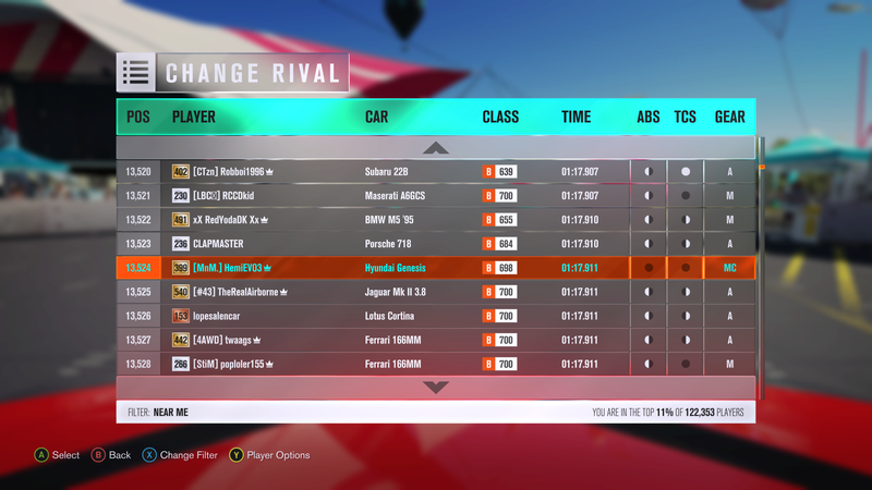 FH3 Time Attack | Stock Car Challenge #38 (2013 Hyundai Genesis Coupe 3.8 Track) Bd1a0911