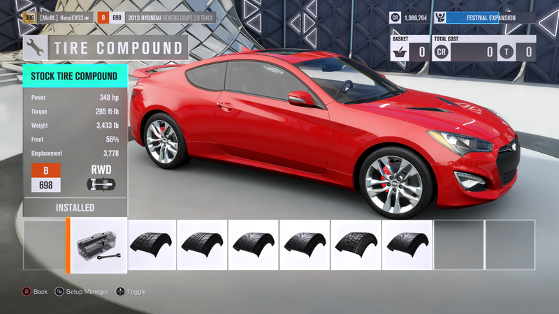 FH3 Time Attack   Stock Car Challenge #38 (2013 Hyundai Genesis Coupe 3.8 Track) Cd579211
