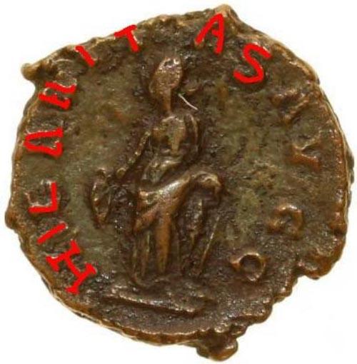 Une monnaie de Tétricus 1er 0881b410