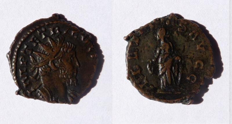 Une monnaie de Tétricus 1er Tetric12