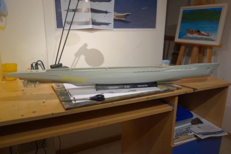 U-boot typ IX C/40 (U-190) Revell 1/72 Dsc04209