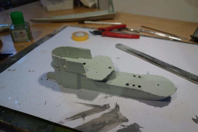 U-boot typ IX C/40 (U-190) Revell 1/72 Dsc04266