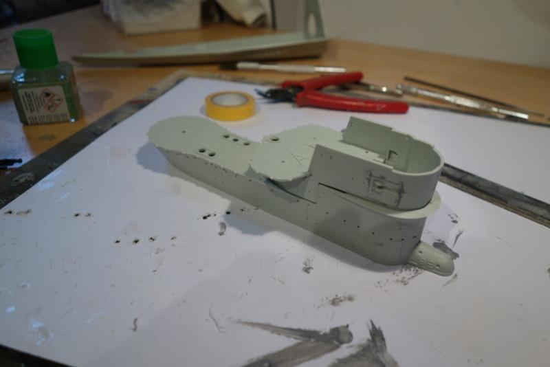 U-boot typ IX C/40 (U-190) Revell 1/72 Dsc04267