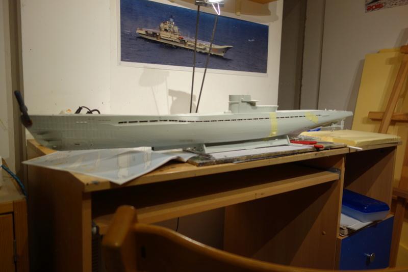 U-boot typ IX C/40 (U-190) Revell 1/72 Dsc04284