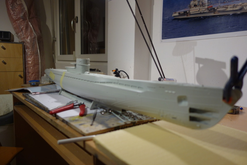 U-boot typ IX C/40 (U-190) Revell 1/72 Dsc04285