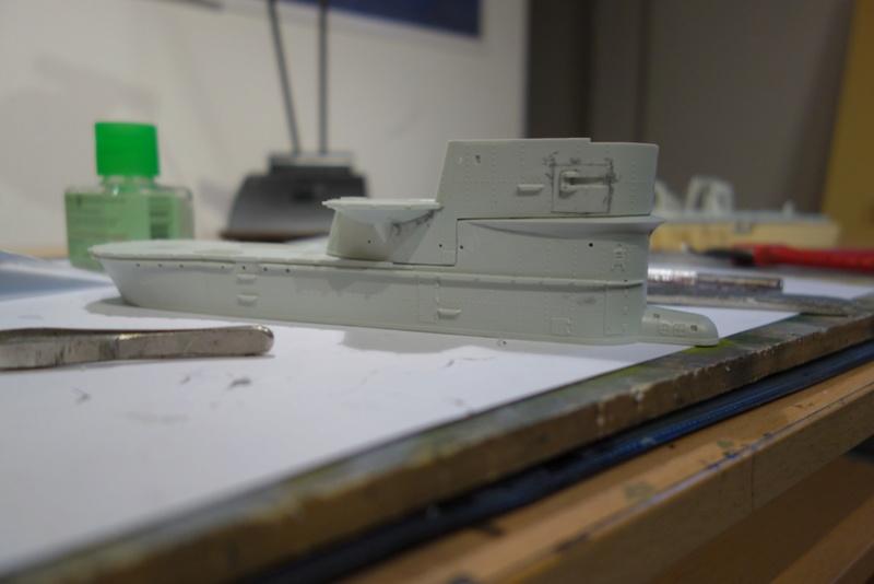 U-boot typ IX C/40 (U-190) Revell 1/72 Dsc04286