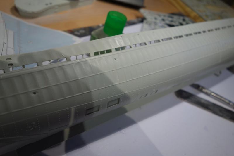 U-boot typ IX C/40 (U-190) Revell 1/72 Dsc04288