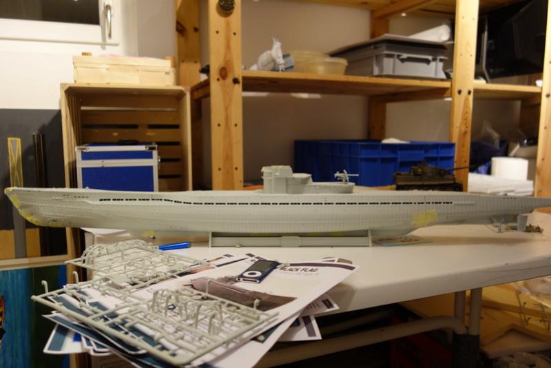 U-boot typ IX C/40 (U-190) Revell 1/72 Dsc04312