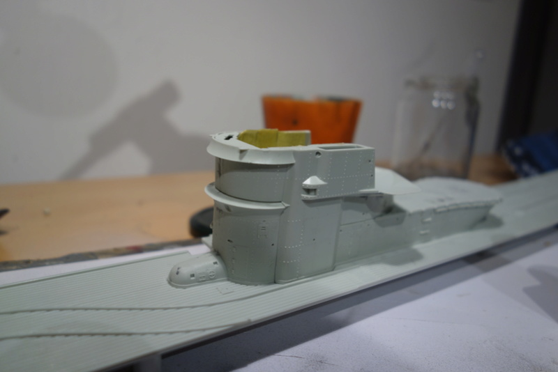 U-boot typ IX C/40 (U-190) Revell 1/72 Dsc04320