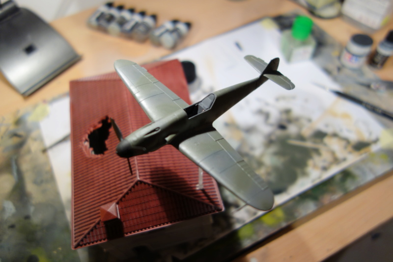 Messerschmitt Bf 109 f (Italeri 1/72) Dsc04335