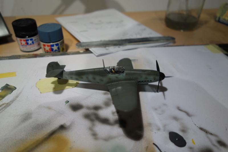 Messerschmitt Bf 109 f (Italeri 1/72) Dsc04338