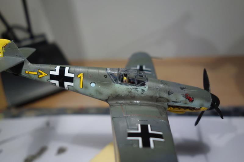 Messerschmitt Bf 109 f (Italeri 1/72) Dsc04341