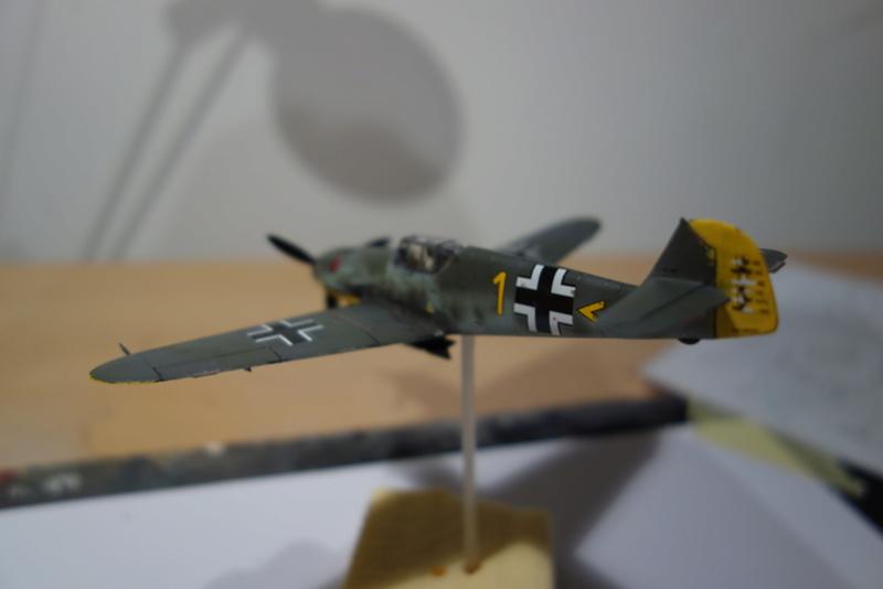 Messerschmitt Bf 109 f (Italeri 1/72) Dsc04342