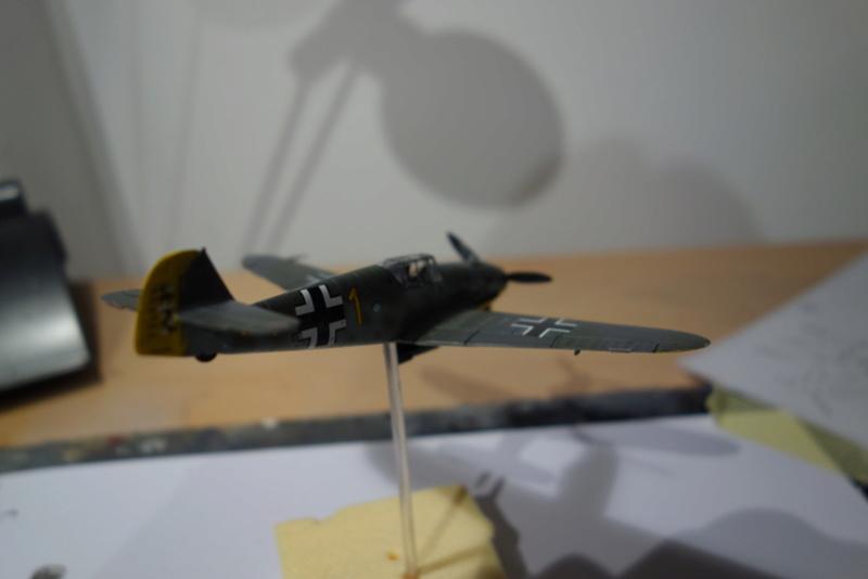 Messerschmitt Bf 109 f (Italeri 1/72) Dsc04343