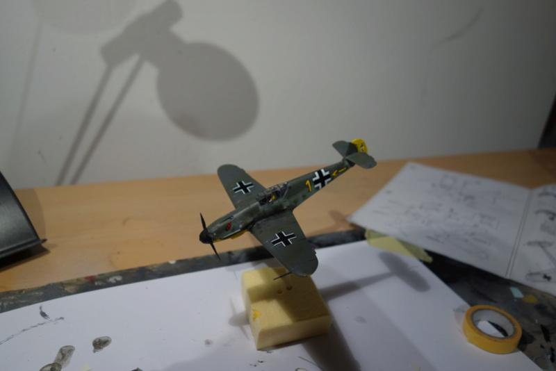 Messerschmitt Bf 109 f (Italeri 1/72) Dsc04344