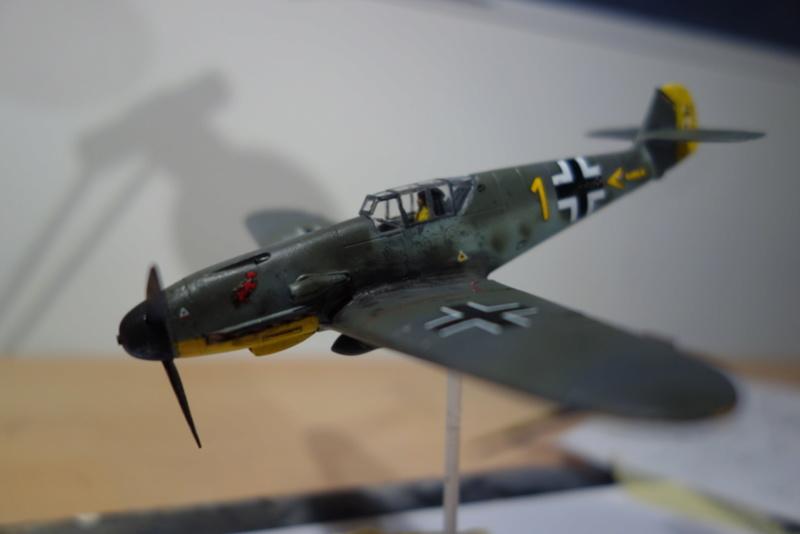 Messerschmitt Bf 109 f (Italeri 1/72) Dsc04345