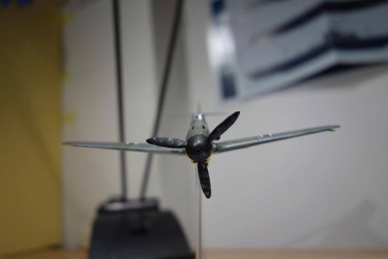 Messerschmitt Bf 109 f (Italeri 1/72) Dsc04346