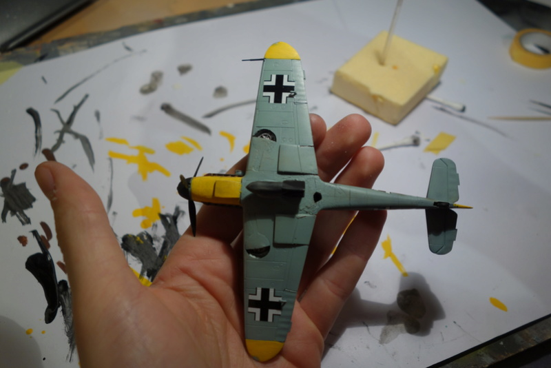 Messerschmitt Bf 109 f (Italeri 1/72) Dsc04347