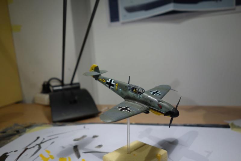 Messerschmitt Bf 109 f (Italeri 1/72) Dsc04348