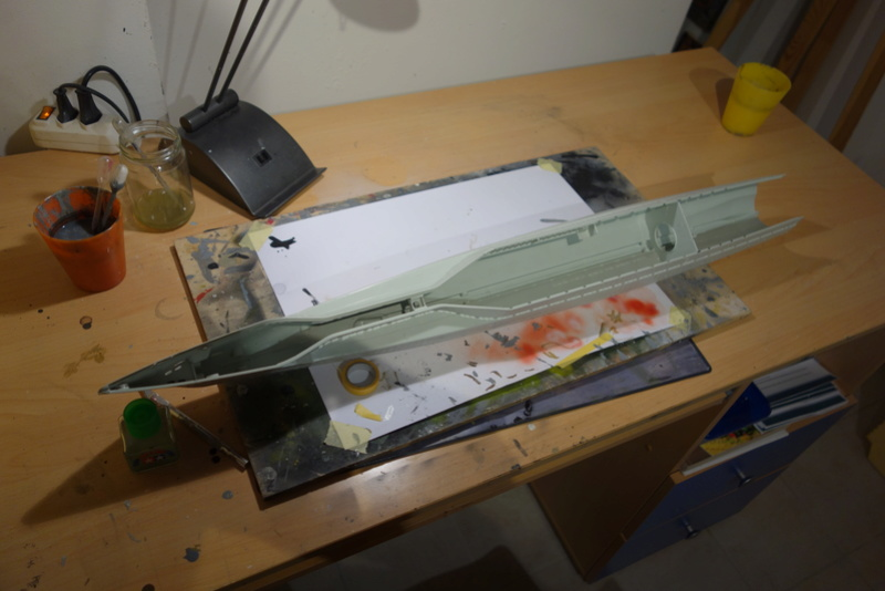 U-boot typ IX C/40 (U-190) Revell 1/72 Dsc04357