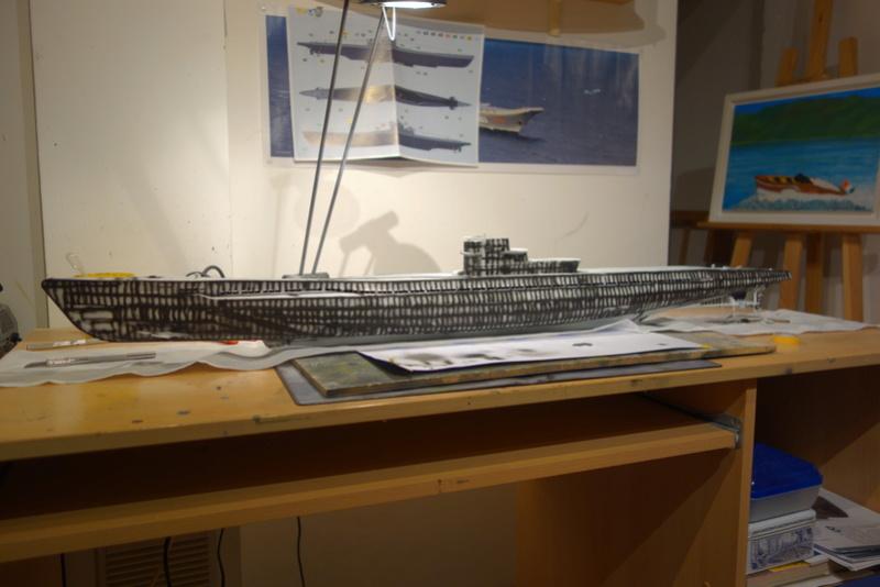 U-boot typ IX C/40 (U-190) Revell 1/72 - Page 3 Dsc04412