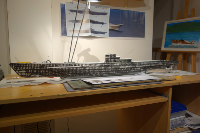 U-boot typ IX C/40 (U-190) Revell 1/72 Dsc04412