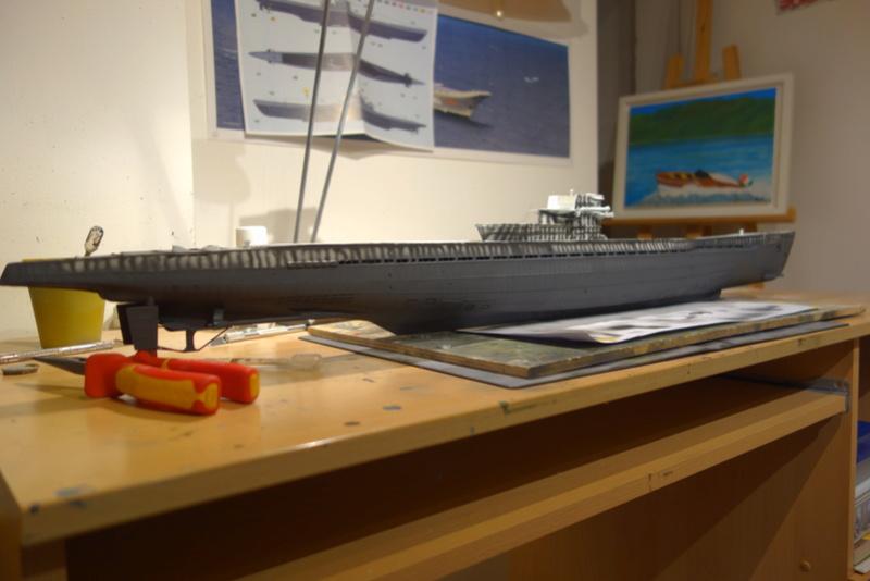 U-boot typ IX C/40 (U-190) Revell 1/72 Dsc04414