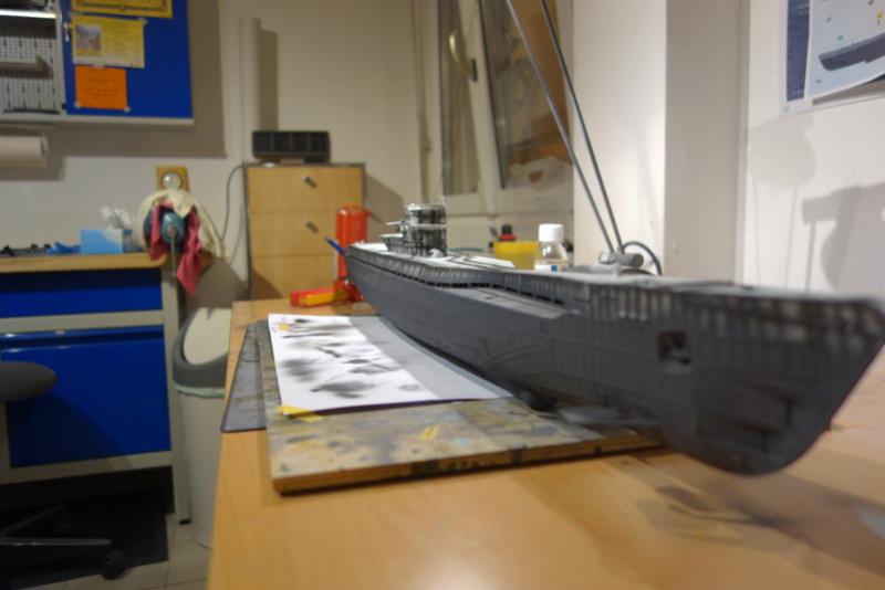 U-boot typ IX C/40 (U-190) Revell 1/72 Dsc04415