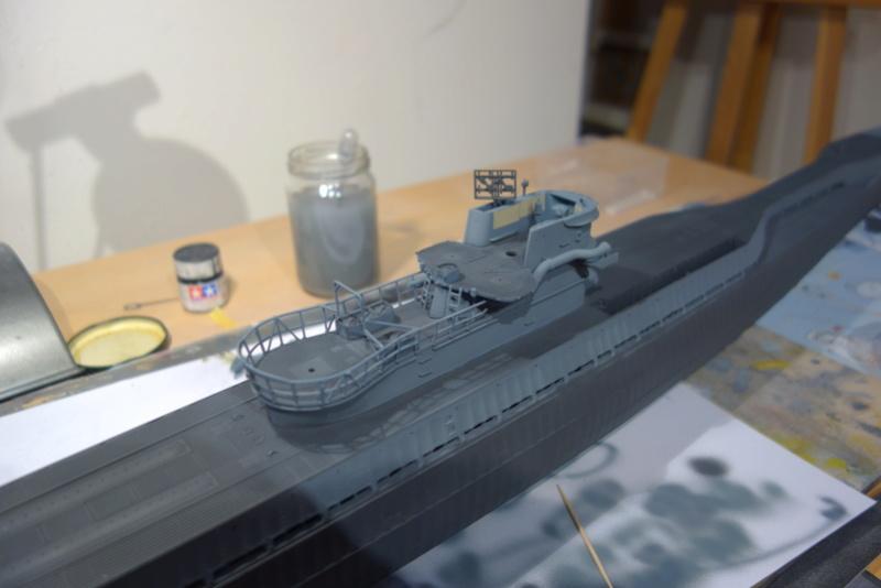 U-boot typ IX C/40 (U-190) Revell 1/72 Dsc04419