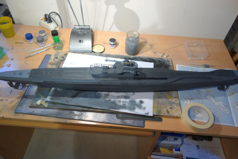 U-boot typ IX C/40 (U-190) Revell 1/72 Dsc04420