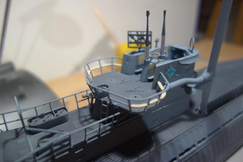 U-boot typ IX C/40 (U-190) Revell 1/72 - Page 4 Dsc04422