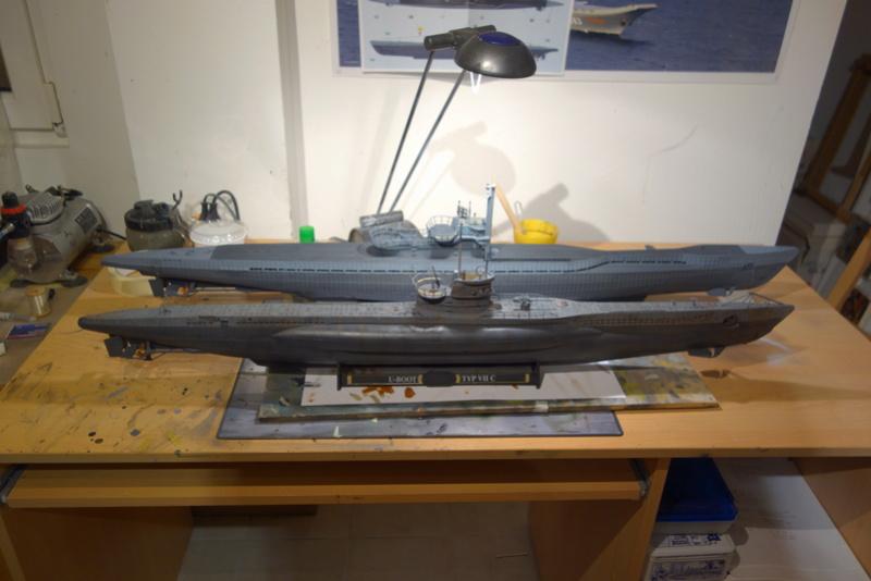 U-boot typ IX C/40 (U-190) Revell 1/72 - Page 4 Dsc04423