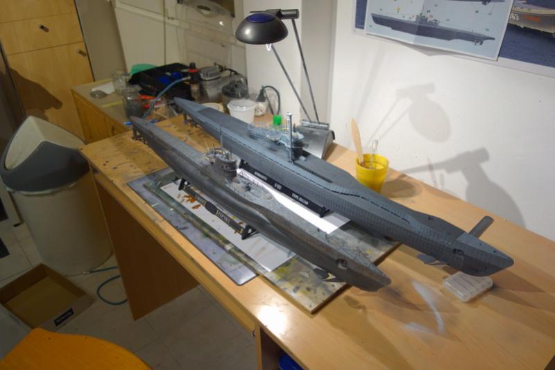U-boot typ IX C/40 (U-190) Revell 1/72 - Page 2 Dsc04424