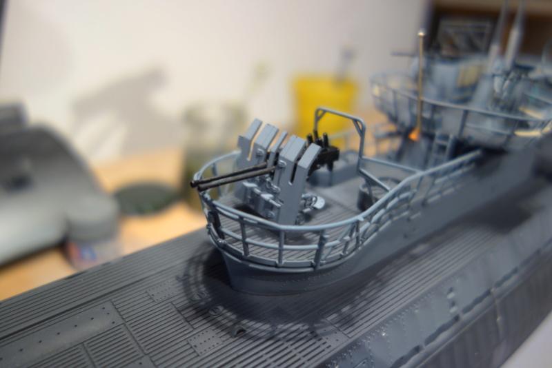 U-boot typ IX C/40 (U-190) Revell 1/72 - Page 2 Dsc04430
