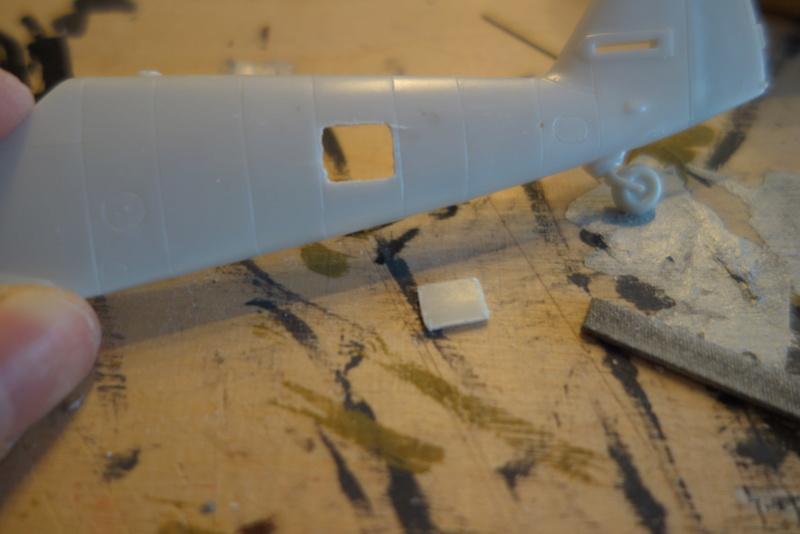 Messerschmitt Bf 109 G10 (Revell 1/48) Dsc04439