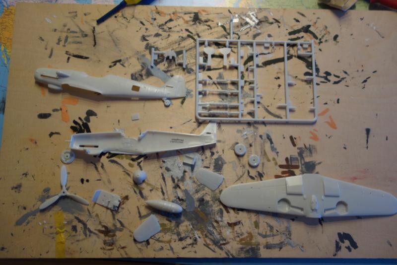 Messerschmitt Bf 109 G10 (Revell 1/48) Dsc04440