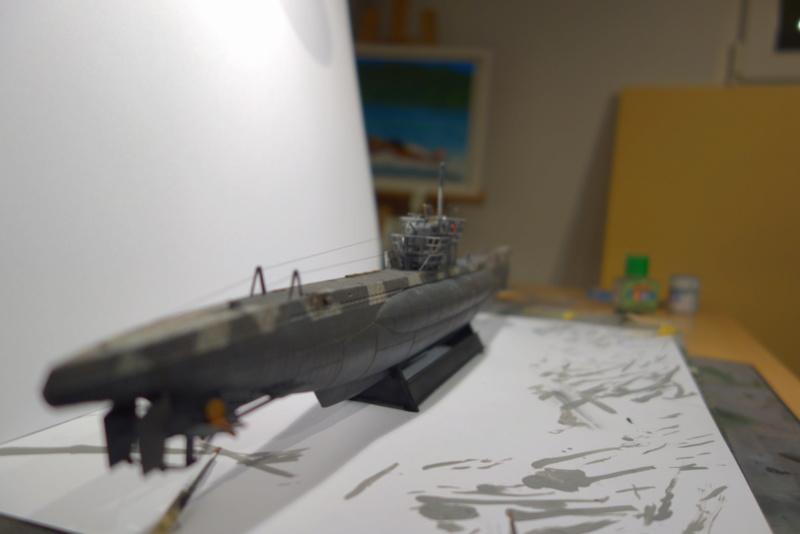 U-Boot TYP VII C/41 Revell 1/144 Dsc04452