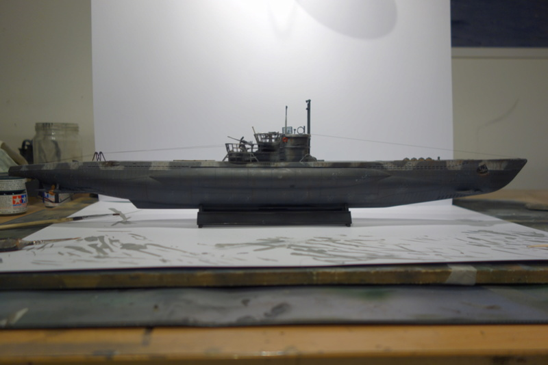 U-Boot TYP VII C/41 Revell 1/144 Dsc04454