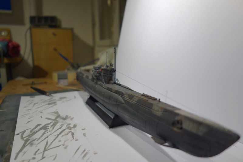 U-Boot TYP VII C/41 Revell 1/144 Dsc04458