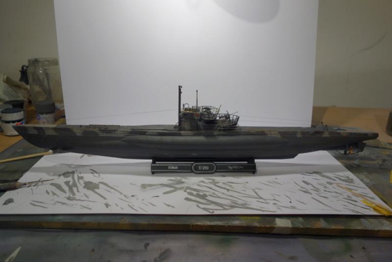 U-Boot TYP VII C/41 Revell 1/144 Dsc04459