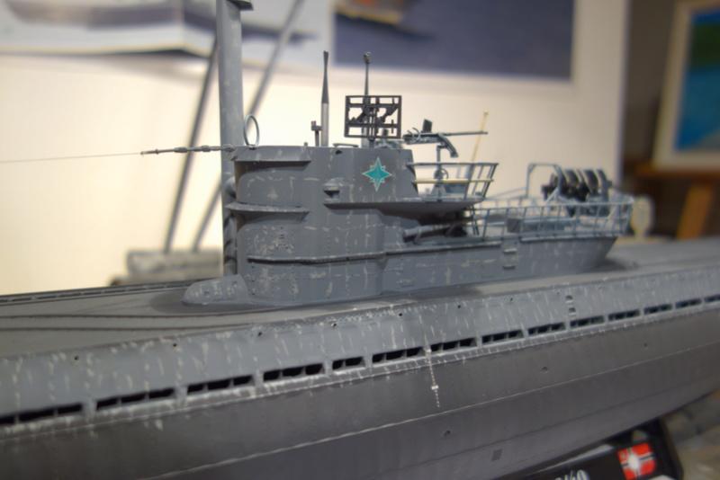 U-boot typ IX C/40 (U-190) Revell 1/72 - Page 4 Dsc04460