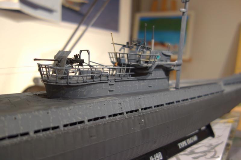 U-boot typ IX C/40 (U-190) Revell 1/72 - Page 4 Dsc04462