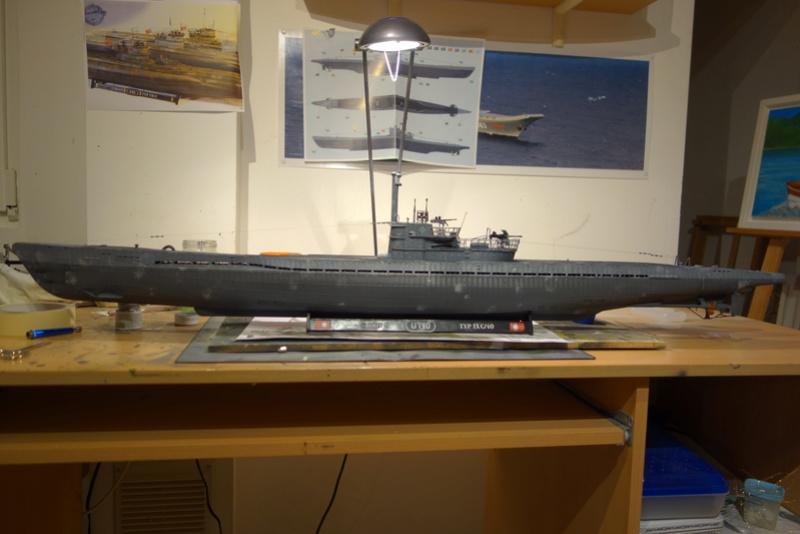 U-boot typ IX C/40 (U-190) Revell 1/72 - Page 4 Dsc04465