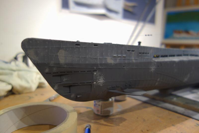 U-boot typ IX C/40 (U-190) Revell 1/72 - Page 2 Dsc04466