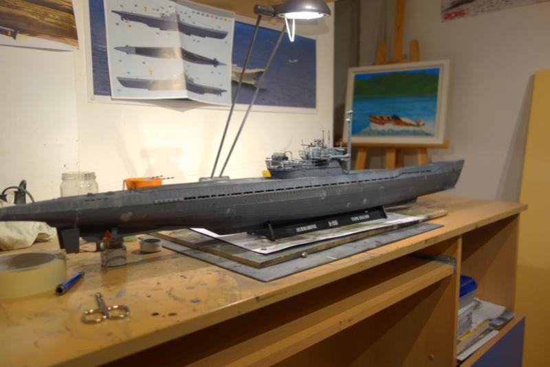 U-boot typ IX C/40 (U-190) Revell 1/72 - Page 2 Dsc04470