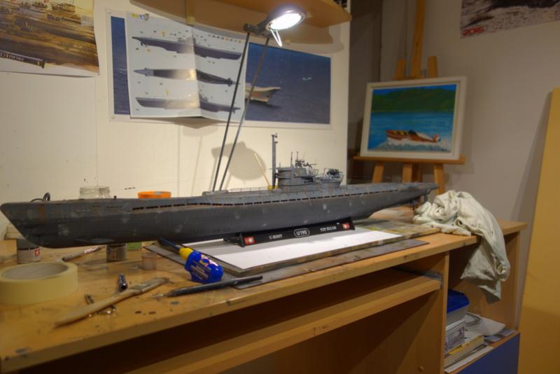U-boot typ IX C/40 (U-190) Revell 1/72 - Page 2 Dsc04471