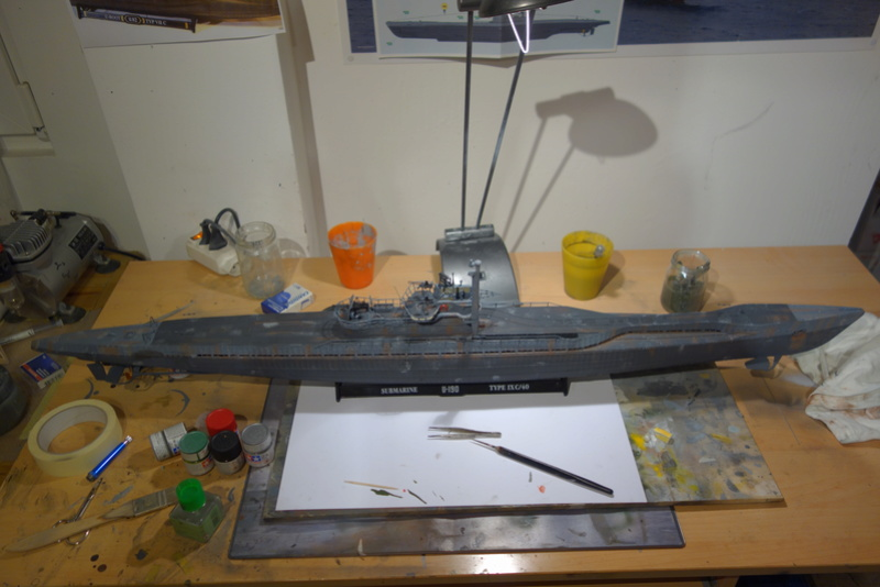 U-boot typ IX C/40 (U-190) Revell 1/72 - Page 2 Dsc04472